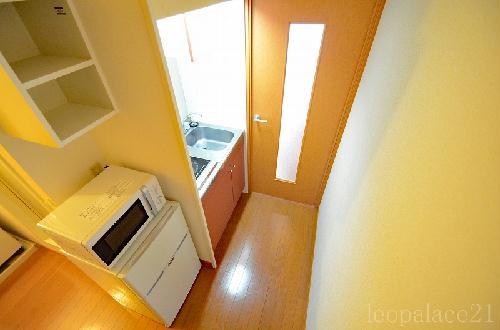 レオパレスRook 203号室のキッチン