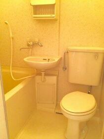 立川栄町フラット 2102号室のトイレ