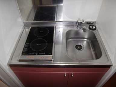 レオパレス光草 201号室のキッチン