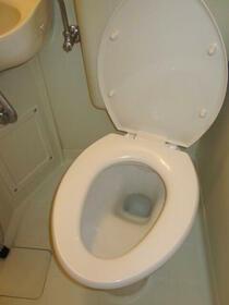 スカイコート東白楽 304号室のトイレ