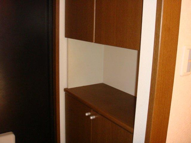 スカイヒルズほそや 301号室の玄関