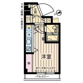 フローレンス立川・0302号室の間取り