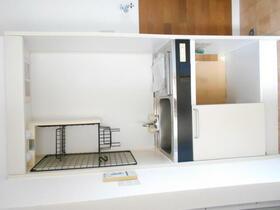 グリーンコーポ 203号室のキッチン