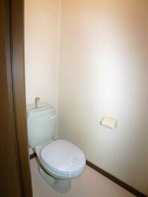 ハイフォルム竹美 202号室のトイレ