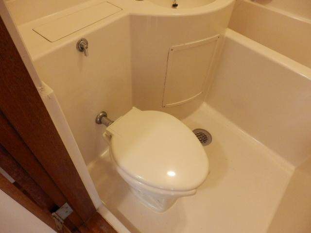 清和レジデンス1号棟 204号室のトイレ