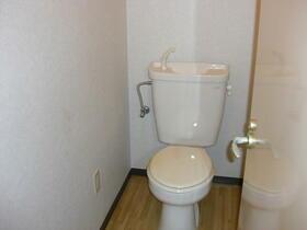 シャトル三ツ藤 203号室のトイレ