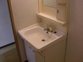 シャトル三ツ藤 203号室の洗面所
