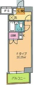 トゥー・ル・モンド新横浜 0601号室の間取り