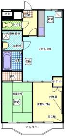 グレースマンション栄・405号室の間取り