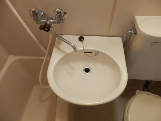 サンパレス国立 202号室の洗面所