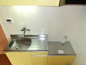 川又コーポ 301号室のキッチン