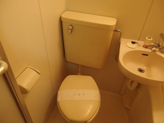 グラドゥアーレ 202号室のトイレ
