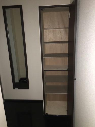 クレイノ翔花 105号室の収納