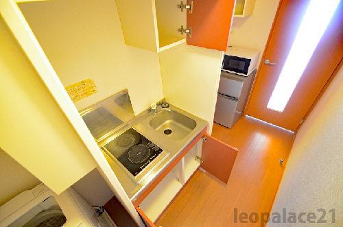 レオパレスはしば2 107号室のキッチン
