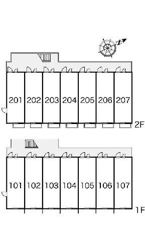 レオパレスはしば2 107号室のその他