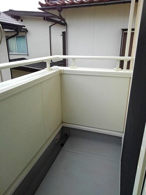メゾン セレノ 02040号室のバルコニー