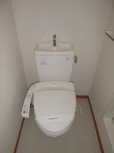 レオパレスハーモニー 101号室のトイレ