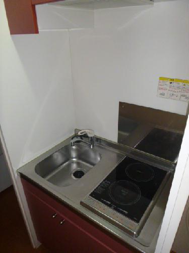 レオパレスハーモニー 101号室のキッチン