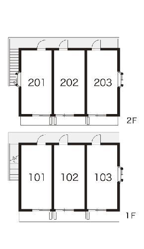 レオパレス西原 203号室のその他