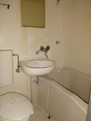 レオパレス西原 203号室の風呂