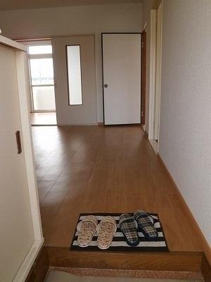 ジュネスコーポ 01040号室の玄関