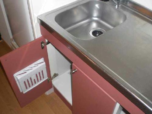 レオパレスカサデルソルⅢ 107号室のキッチン