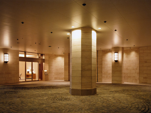 ナビューレ横浜タワーレジデンス 40F号室のエントランス