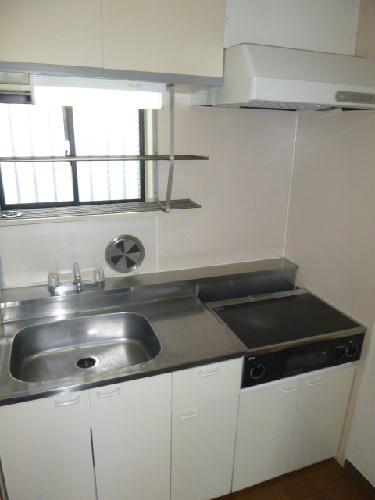 レオパレスBOUGAKU A 207号室のキッチン