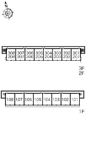 レオパレスBOUGAKU A 307号室のその他共有