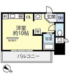 ダイホープラザ新横浜 302号室の間取り