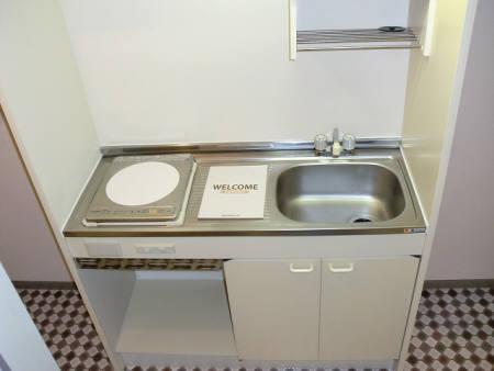 メゾンシャレー 103号室のキッチン