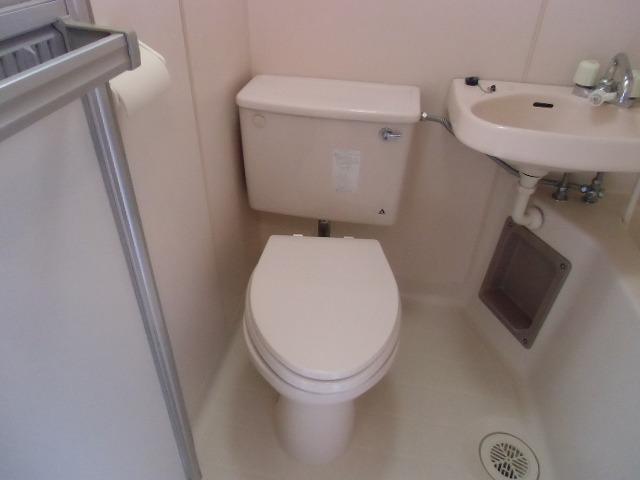 セゾン 305号室のトイレ