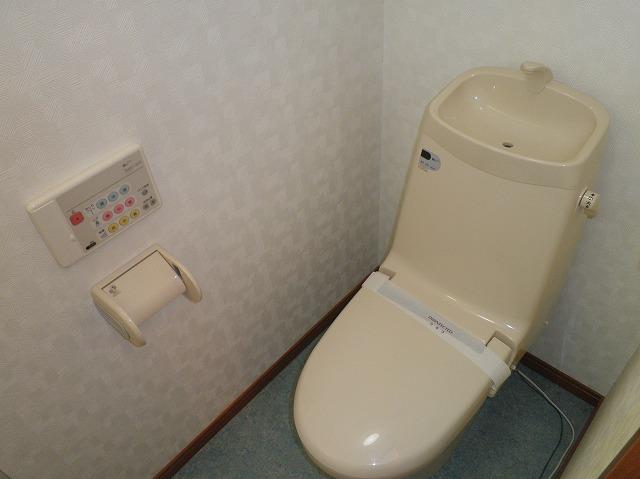 ルネス木嶋 302号室のトイレ