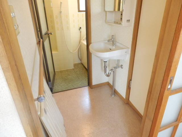 シュロス京南 301号室の洗面所
