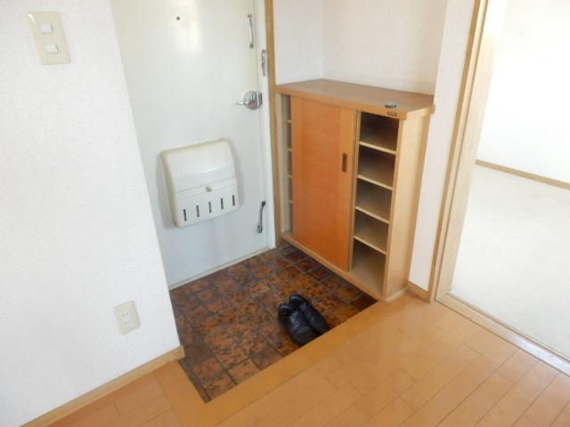 シュロス京南 301号室の玄関