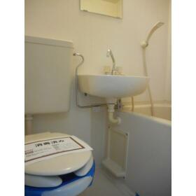 ダイアパレス三ツ沢公園東・西館 W103号室のトイレ