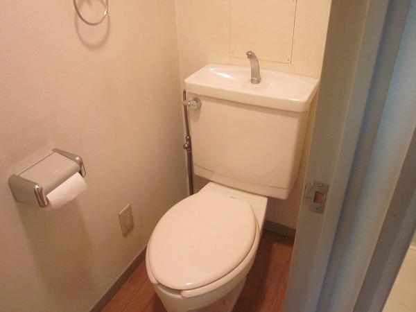 トーレタケダ 205号室のトイレ