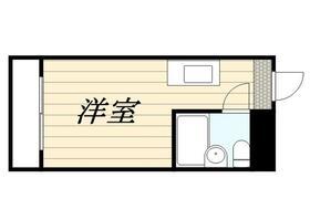 レジダンスイン・目黒・0426号室の間取り