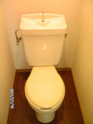 パレ菊名 101号室のトイレ