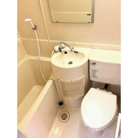 グレースコート 3-A号室の洗面所