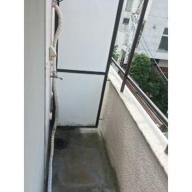 グレースコート 3-A号室のバルコニー