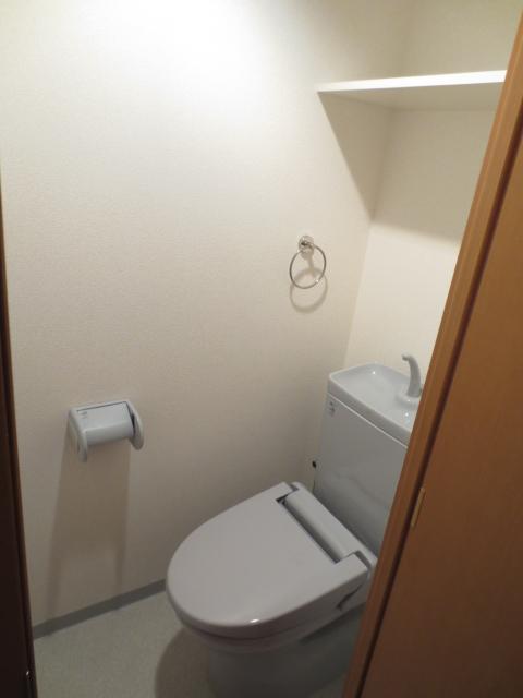 アパルトマン緑が丘 102号室のトイレ