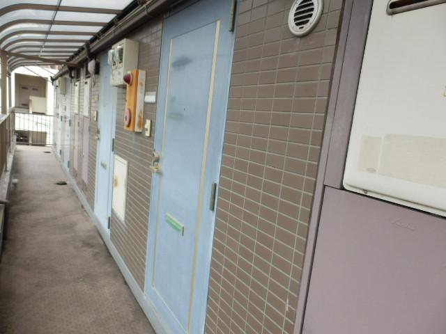 第11シンエイハイム 305号室の玄関