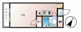 PRATIQUE IKEGAMI HONMONJI・204号室の間取り