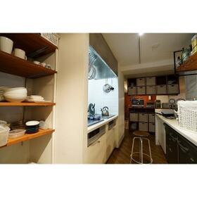 アミンズ学芸大学 0104号室のキッチン