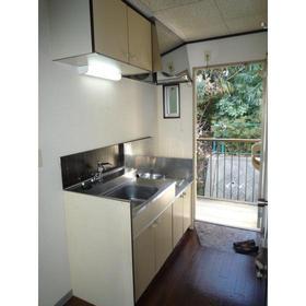 シャレット日吉 201号室のキッチン