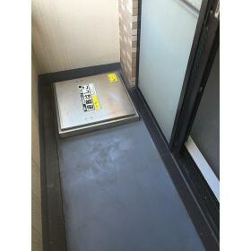 ベルメゾン川崎Ⅰ 0201号室のバルコニー