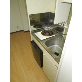 ダイアパレス三ツ沢公園東・西館 E106号室のキッチン