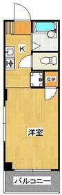 m2ハウス(エムツーハウス)・202号室の間取り