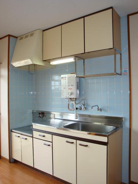 酒カネハイツ 102号室のキッチン